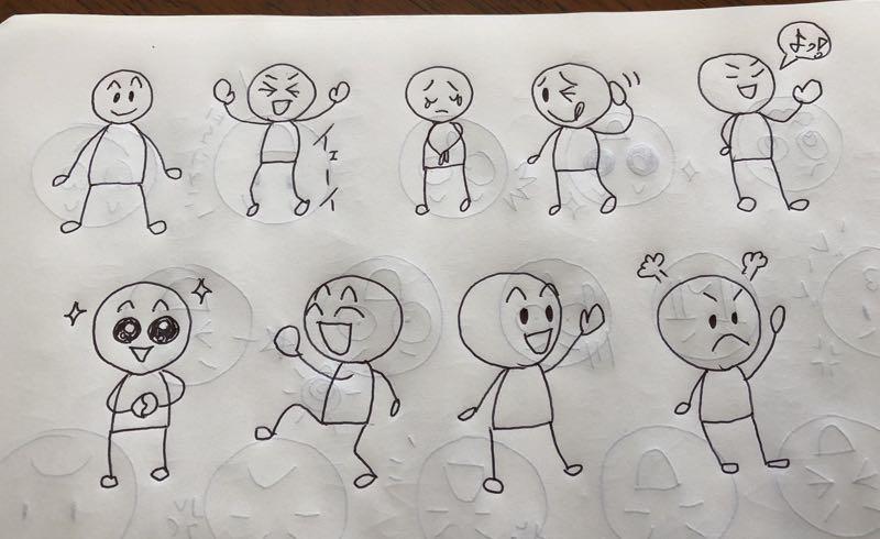 誰でも描ける手書きイラスト講座