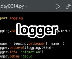 Udemy講座 Pythonista logging