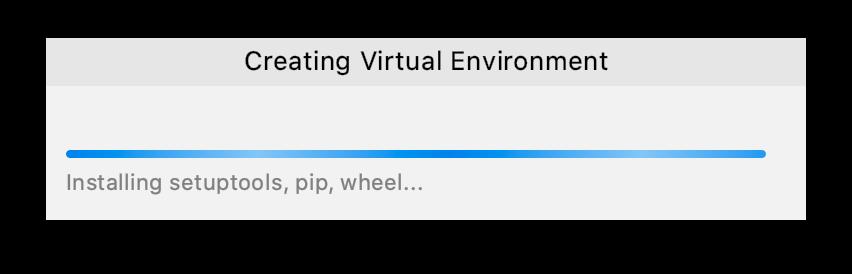 Udemy講座 Pycharm Python Virtualenv