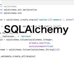 Python SQLAlchemyの使い方 Udemy講座