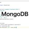 【Python】NoSQLのデータベースMongoDBを使う(Vol.1)