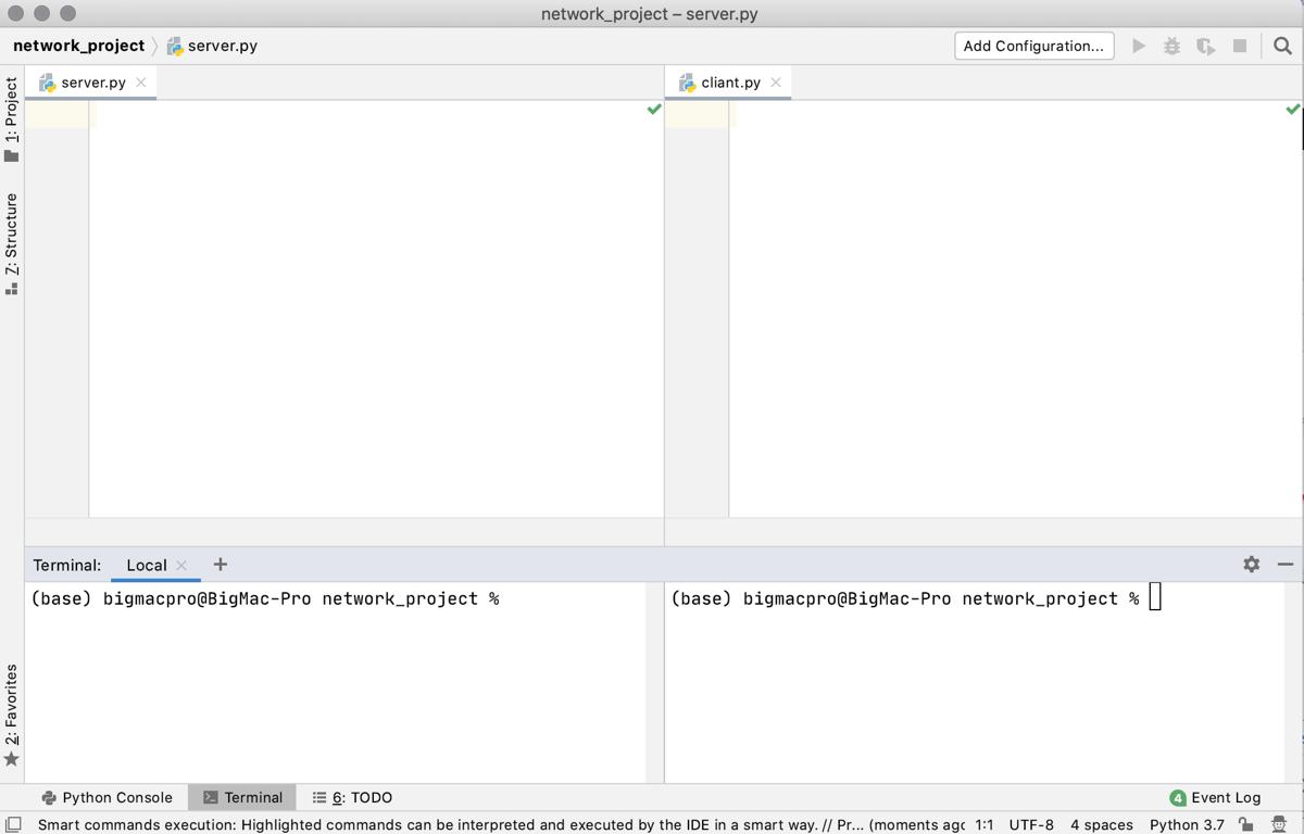 Python socket ソケット通信