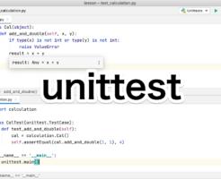 Python unittestを試してみる