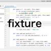【Python】pytestのfixtureのtmpdir使用の具体例