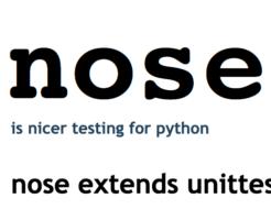 Pythonのテストができるnose