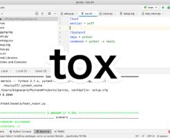 Python toxを使ってvirtualenvを作ってpytestを実行