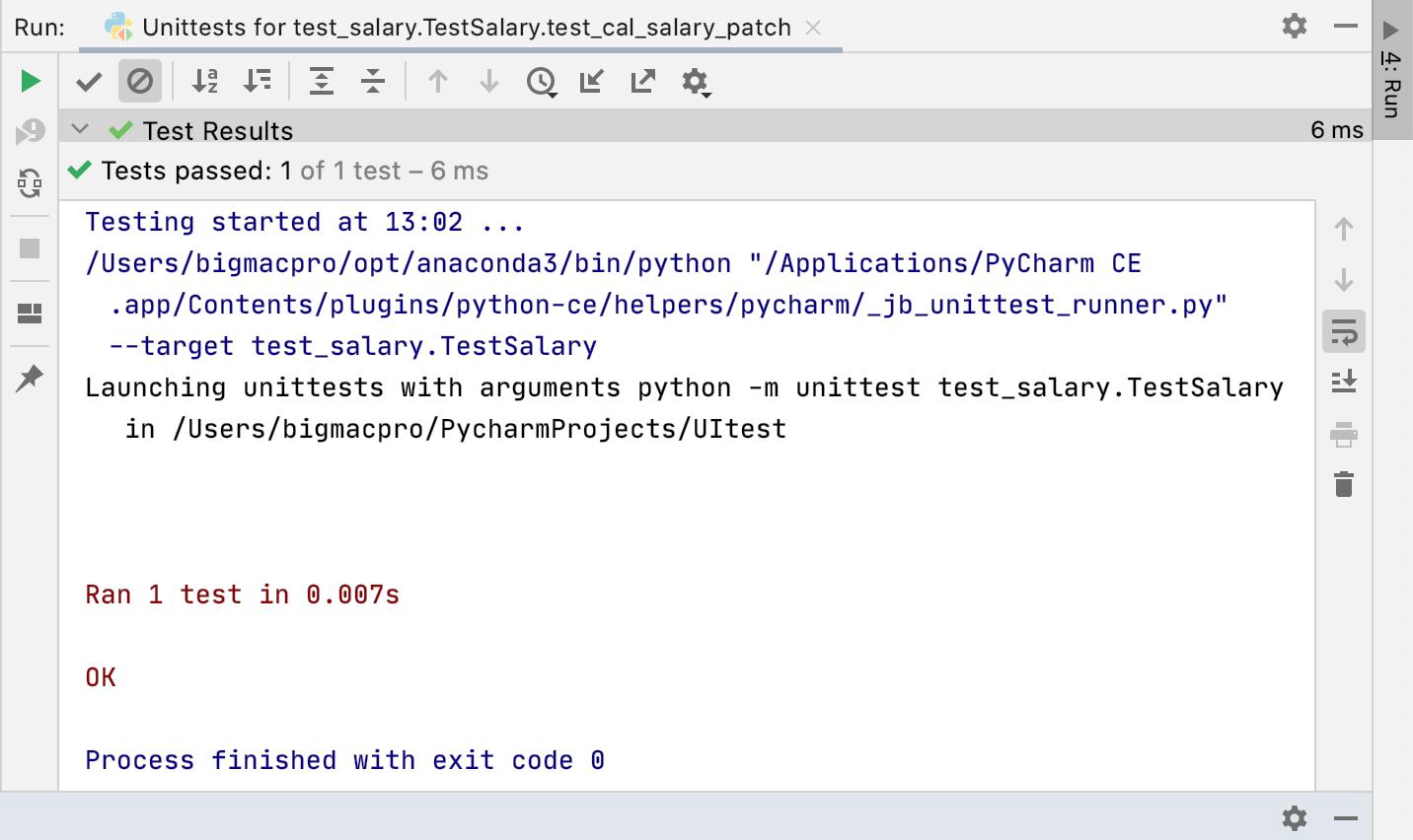 Mockのテスト Python