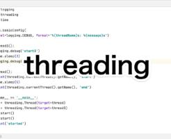 Pythonのthreadingモジュール