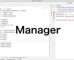 Python Managerを使ったメモリ共有