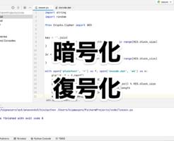 Python ファイルの暗号化と復号化