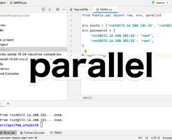 parallelを使ってコマンドを同時に実行する