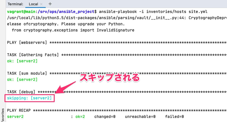 自作モジュール Python Ansible