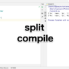 【re】compileとsplitで文字列を分割
