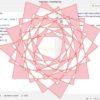 【turtle】turtleで幾何学的な図形を描写する方法