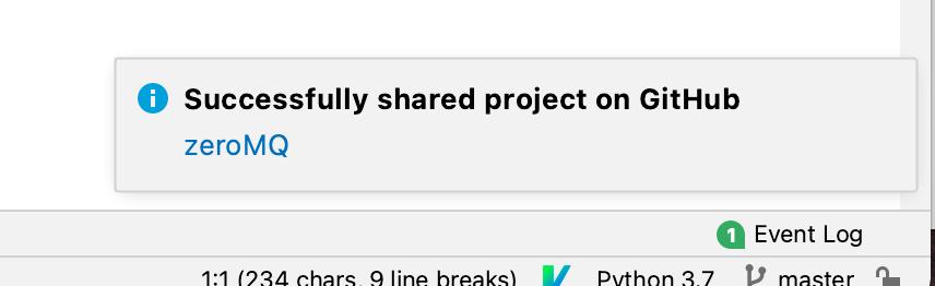 PycharmとGitHubの連携